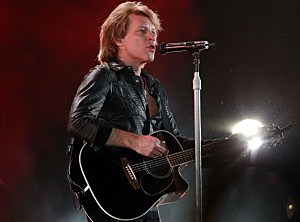 Bon Jovi Performs In Melbourne