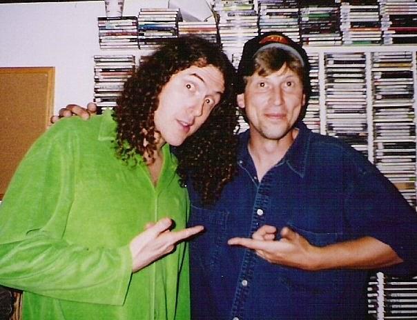 'Weird Al' Yankovic & Rick Andrews In San Luis Obispo, Ca 2000