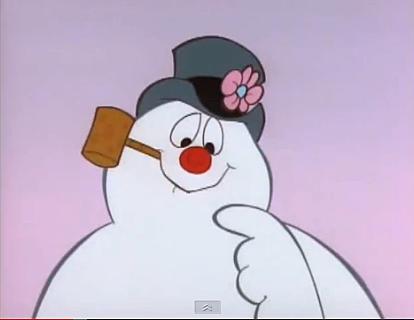 Frosty The Snowman Melting frosty the snowman,