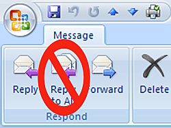 When to Use Reply, Reply All, CC, and BCC