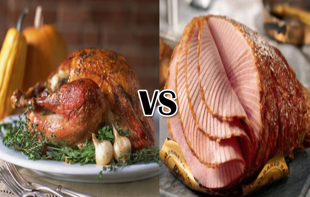 Turkey & Ham — Your Sensational Thanksgiving Centerpiece ...