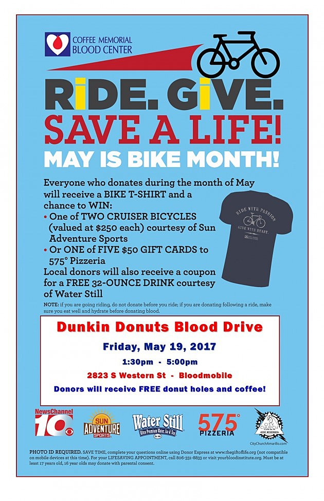 BikeMonthPoster-DunkinDonuts REVISED