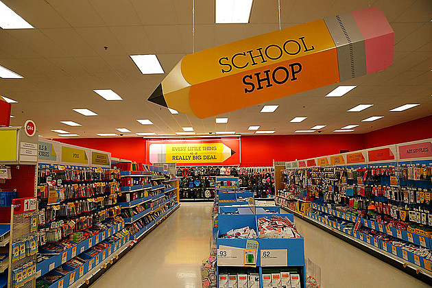 Soleil Moon Frye Goes Back-to-School Shopping At Target